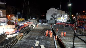 installing-the-beams-for-the-new-bridge