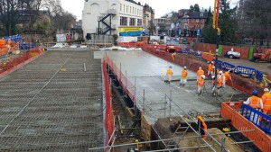 pouring-the-new-concrete-bridge-deck